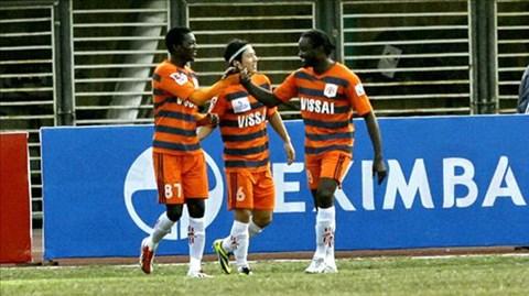 V.NB ra quân thắng lợi 3-1 trên đất Hong Kong