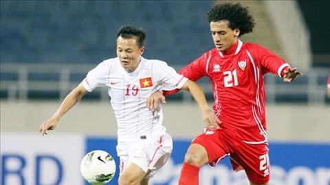 ĐT Việt Nam (áo trắng) sẽ chơi trận cuối cùng tại VL Asian Cup 2015