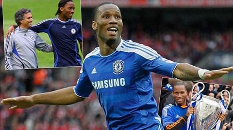 Drogba và trận đấu nhiều cảm xúc với Chelsea đêm nay
