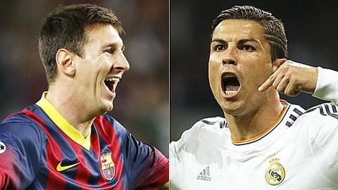 Lionel Messi và Cristiano Ronaldo là 2 ngôi sao sáng nhất trong làng bóng đá vào thời điểm hiện tại