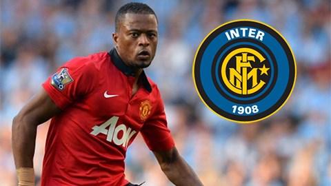 Evra sẽ sang Inter cùng Vidic?