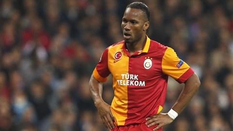Drogba không thể hiện được nhiều khi gặp lại Chelsea