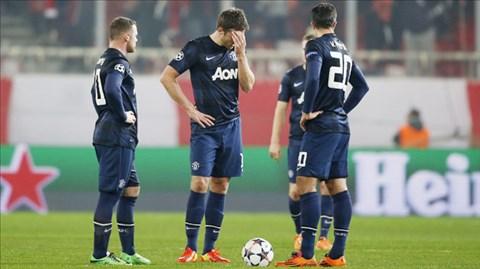 Nhiều cầu thủ Man United thi đấu dưới sức trên đất Hy Lạp