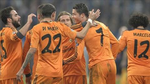 Real Madrid đã giành thắng lợi rất ấn tượng ngay trên sân Schalke