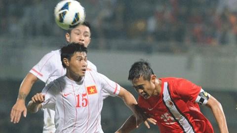 Trận đấu giữa ĐT Việt Nam-ĐT Hongkong sẽ được truyền hình trực tiếp trên kênh VTC