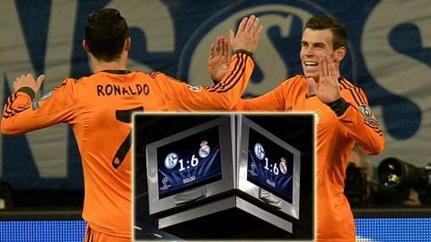 Ronaldo và Bale cũng lập cú đúp ở trận này