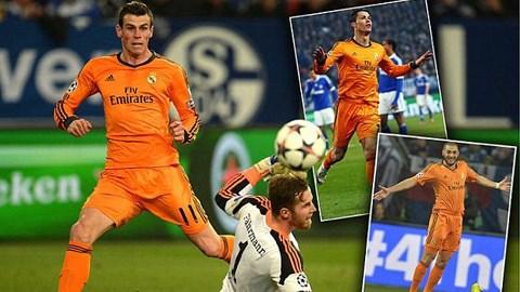 Real áp đảo ĐHTB Champions League tuần này