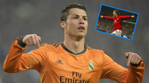 Ronaldo đã có 61 pha lập công tại Champions League