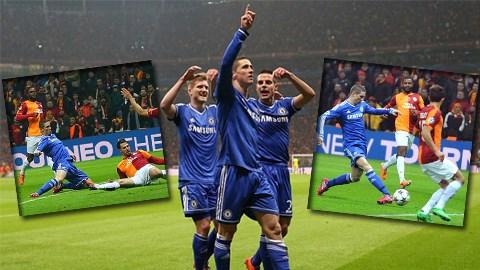 Torres vẫn thể hiện được đẳng cấp trên đấu trường châu Âu