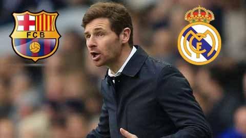 Villas-Boas mơ về Barca và Real