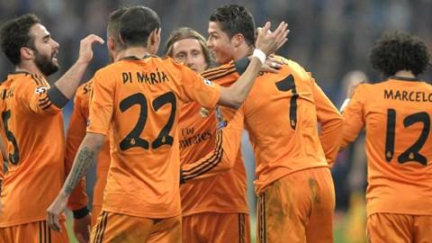 Real vừa có chiến thắng tưng bừng 6-1 ngay trên sân của Schalke