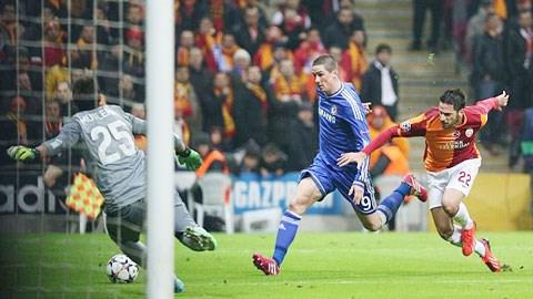 Dù chơi tốt song Galatasaray vẫn đang gặp bất lợi sau lượt đi