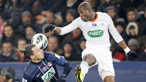 Ibrahimovic (trái) và đồng đội sẽ có cuộc chiến khó khăn với Marseille