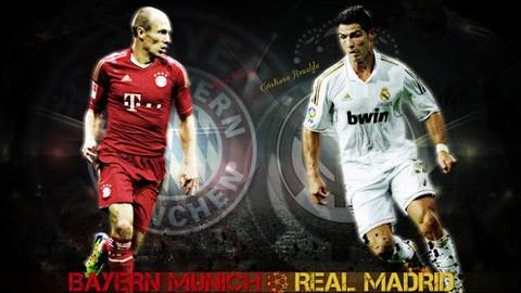 Bayern và Real đang là 2 ứng viên nặng ký nhất cho chức vô địch Champions League