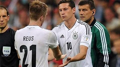 Draxler và Reus không có mặt trong lần triệu tập này của ĐT Đức
