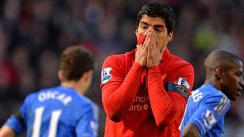 Suarez không còn nổ súng đều đặn như trước