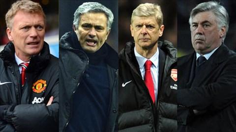 David Moyes so với Wenger và Mourinho thế nào ở mùa giải đầu tiên?