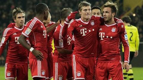 Bayern Munich đang hướng tới 10 kỷ lục trước khi Bundesliga 2013/14 khép lại