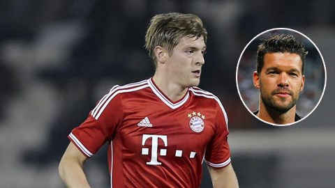 "Ballack ""xúi giục"" Kroos rời Bayern"