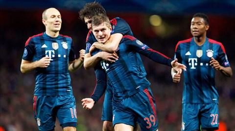 Trước vòng 26 Bundesliga: Chờ Bayern đăng quang