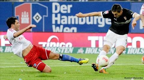 21h30 ngày 22/3, Stuttgart vs Hamburg
