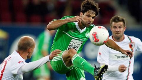21h30 ngày 22/3, Wolfsburg vs Augsburg