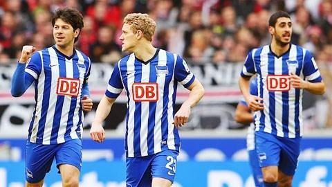 0h30 ngày 23/03: M'gladbach vs Hertha