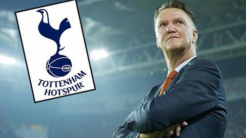 """""""Van Gaal sẽ dẫn dắt Tottenham mùa sau!"""""""