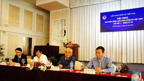 Hội nghị BCH VFF lần thứ nhất - khóa VII - Ảnh: Anh Tài.