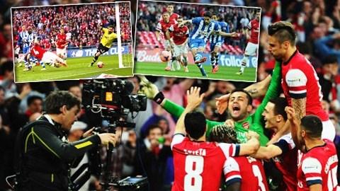 Arsenal vào chung kết FA Cup sau khi đánh bại Wigan