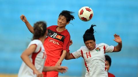 Nữ Việt Nam vs Nữ Jordan