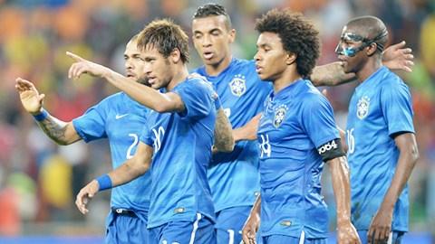 Nhiều tuyển thủ Brazil như Neymar, Willian… mới chỉ có mùa bóng đầu tiên tại những CLB lớn
