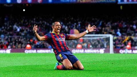 Alexis Sanchez sắp rời Barca để cập bến Juve