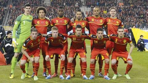 Đội tuyển Bỉ dự World Cup 2014