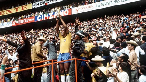 Brazil hoàn toàn xứng đáng vô địch World Cup 1970 khi toàn thắng cả 6 trận