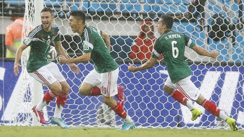 Mexico 1-0 Cameroon (World Cup 2014)