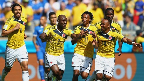 Colombia 3-0 Hy Lạp (World Cup 2014)