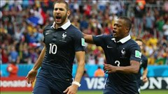 Pháp 3-0 Honduras (Bảng E World Cup 2014)