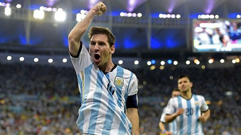Argentina 2-1 Bosnia (World Cup 2014)