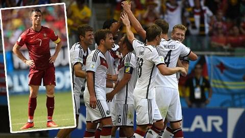 Đức 4-0 Bồ Đào Nha