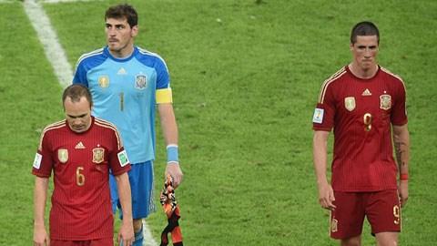 Tây Ban Nha 0-2 Chile (WC 2014)