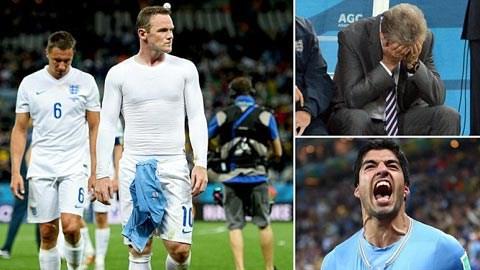 Uruguay 2-1 Anh: Người hùng Suarez