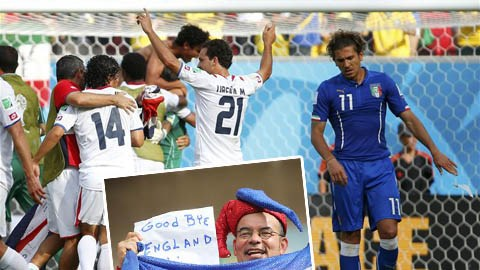 Italia 0-1 Costa Rica