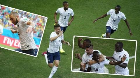 Pháp 5-2 Thụy Sỹ