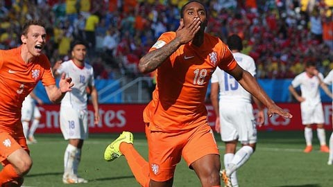 Hà Lan 2-0 Chile