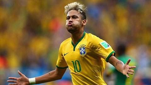 Cameroon 1-4 Brazil: Show diễn của Neymar
