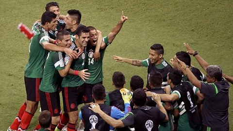 Croatia 1-3 Mexico