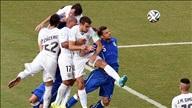 Italia 0-1 Uruguay