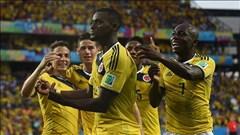 Tường thuật bảng C: Hy Lạp làm nên điều thần kỳ, Colombia đại thắng