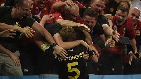 Bỉ 1-0 Hàn Quốc: Bỉ thiếu người vẫn thắng